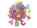 Glorex Moosgummi-Set Buchstaben