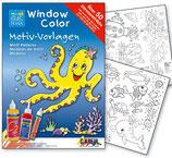 Window Color Motivvorlage Unterwasserwelt