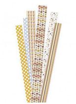 Papierstreifen Quilling und Paperballs