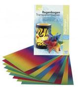 Regenbogen-Transparentpapier