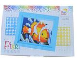 Mini-Pixelhobby Geschenkset Clownfisch