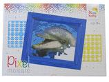 Mini-Pixelhobby Geschenkset Delphin