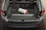 Trennelement aus Aluminium für Kofferraumwanne Karoq