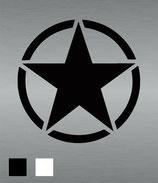 Aufkleber Stern