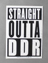 "Aufkleber ""Straight Outta DDR"""