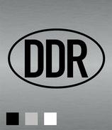 Aufkleber DDR groß