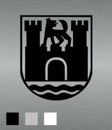 Aufkleber Wappen Wolfsburg