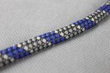 Textilzündkabel blau/anthrazit
