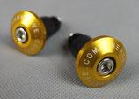 Lenkerenden für 22mm-Lenker gold