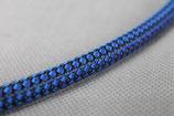 Textilzündkabel blau/schwarz
