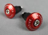 Lenkerenden für 22mm-Lenker rot