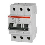 Выключатель автоматический трехполюсный 25А С S203 6кА (S203 C25)