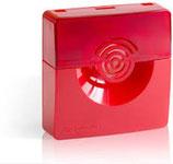 Оповещатель комбинированный светозвуковой ОПОП 124-7 (красный)