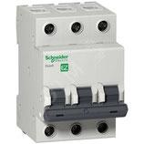 Выключатель автоматический трехполюсный 50A C 4.5кА EASY 9 (EZ9F34350)