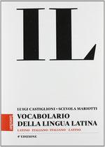 Vocabolario della lingua latina + Guida, Edizione senza CD Copertina rigida