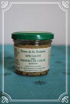 Spécialité aux graines de colza au Poivron