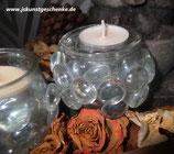 """Teelichtglas """"Winterzeit"""""""