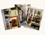 Postkartenserie mit 5 Sujets aus Zürich - komplettes Set