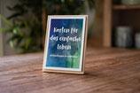 Postkarten für das einfache Leben - MIT Kartenhalter
