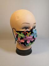 Kindermaske Blumen