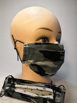 Kindermaske Camouflage