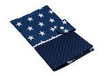 Wickeltasche ☆ Sternchen dunkelblau groß☆