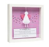 Taufbild ☆ Ein Schutzengel für... ☆ rosa
