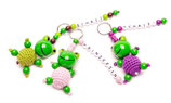Schlüsselanhänger ☆ Frosch mit Name ☆