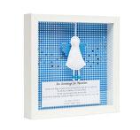 Taufbild ☆ Ein Schutzengel für... ☆ hellblau