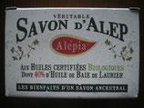 Savon d'Alep aux huiles certifiées bio dont 40% d'huile de Baie de Laurier
