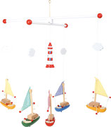 Mobile Segelboot & Leuchtturm