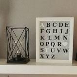 Bel. Bilderrahmen Anfangsbuchstaben