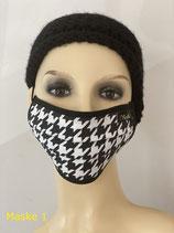 Mund - und Nasenmaske - Baumwolle