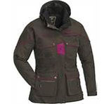 Pinewood Women`s Jacket New Dog Sports Größe L  brown/ fuchsia