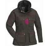 Pinewood Women`s Jacket New Dog Sports Größe L  brown/ fuchsia
