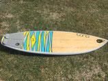 "Tona Pulse 5'10"" Waveboard inkl. Honeycombfinnen (neuwertig)"