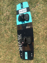 KSP Shark Demoboard 2018 137cm inkl. Finnen optional mit Fußschlaufen (Freeride/Freestyle)