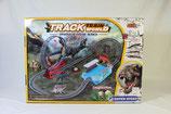 Eisenbahn Zug Track Train Rail Welt Dinosaurier Park Looping Speed Air Flip