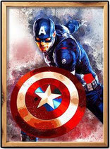 Superhelden Charakter Muster 5d Diy Volldiamant