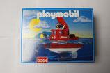 Playmobil 3064 U-Boot Schiff Rescue Ariane 2 Spielzeug Boot Unterwasser Pumpe