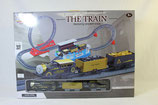 ProduktEisenbahn Zug The Train Nostalgie Gold/Kohle Transport Zug Rail Loopingname