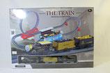 ProduktEisenbahn Zug The Train Nostalgie Gold/Kohle Transport Zug Rail Loopingname