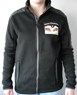 NEU! Strick Fleece Jacke