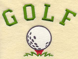 Golf (with ball)