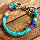 """Halsband """"Marbella"""" (auf dem Foto ist eine Wunschtakelung zusehen)"""
