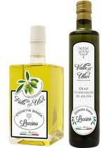 """Olivenöl """"LECCINO""""  (Valle degli Ulivi-Gardasee Italien) Inhalt 250ml"""