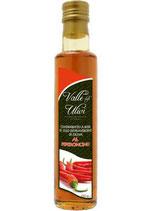 Olivenöl mit Chili  (Valle degli Ulivi-Gardasee Italien) Inhalt 250ml