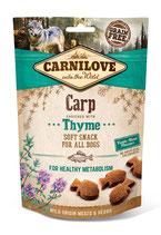 Carnilove Soft Snack Karpfen mit Thymian 200g