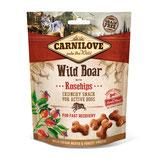 Carnilove Crunchy Snack Wildschwein mit Hagebutte 200g