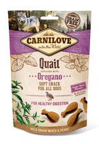 Carnilove Soft Snack Wachtel mit Oregano 200g